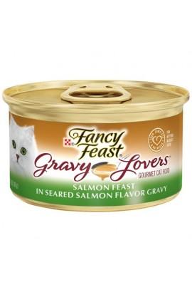 Purina Fancy Feast 85g ( Gravy Lovers Salmon )