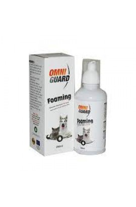 Omni Guard Foaming 250ml Waterless Shampoo For Cats & Dogs