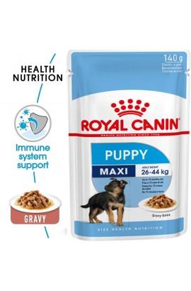 Royal Canin Maxi Puppy Pouch Gravy 140g