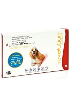 Revolution for dogs 10kg-20kg(Single Dose)