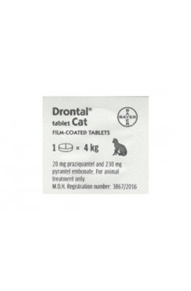 Drontal Cat Worming Tablet x 1