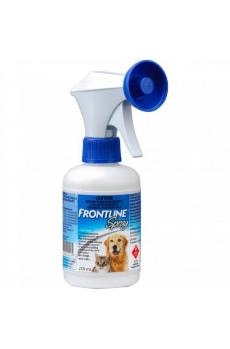 Frontline Fleas & Ticks Spray for dogs and cats 250ml