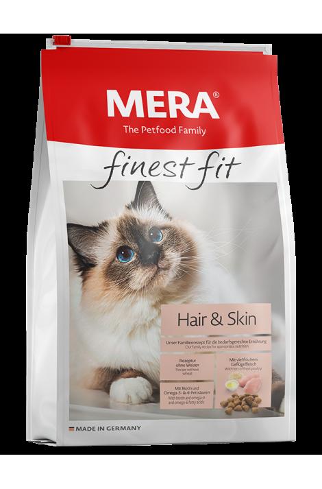 MERA finest fit Hair & Skin Adult Cat Dry Food 1.5 Kg