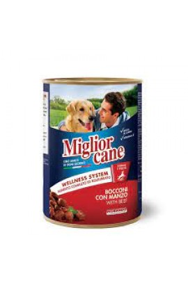 Miglior Cane With Beef 405g