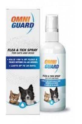 Omni Guard Cats & Dogs Flea & Tick Spray 250ml