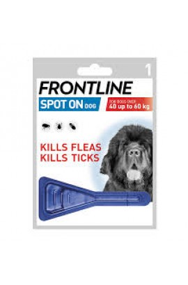Frontline Spot-On Dog XL (over 40kg) X 1 Pipette
