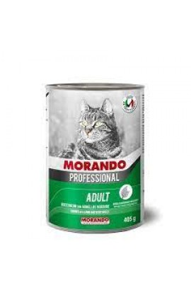 Morando Professional Adult Cat Small Chunks With Lamb & Vegetables 405g